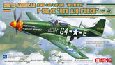1/48 US Air Force North American P-51D/K 8th Air Force Plastic Model