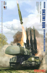 1/35  Russian Surface-to-air Missile System 9K37M1 Buku Plastic MSS014