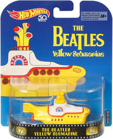 1/64 Hot Wheels Beatles Yellow Submarine