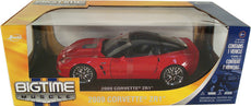 Jada - 1/18 2009 Chevy Corvette ZR1 - Victory Red - Bigtime Muscle)