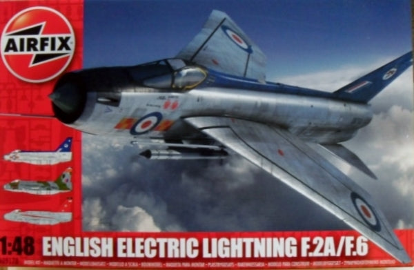 1/48 ENGLISH ELECTRIC LIGHTNING F.2A/F.6