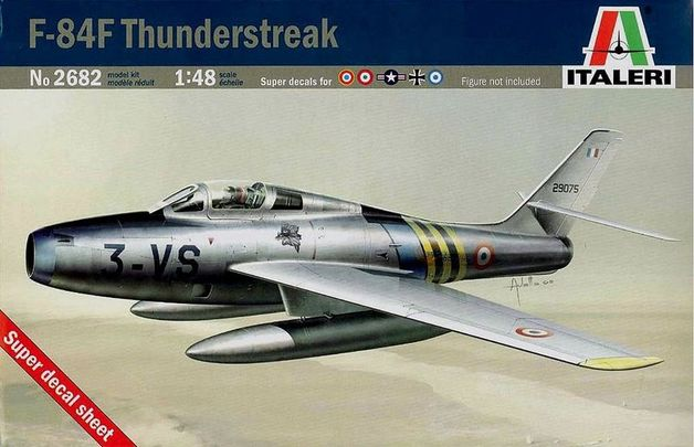 1/48 F-84F THUNDERSTREAK