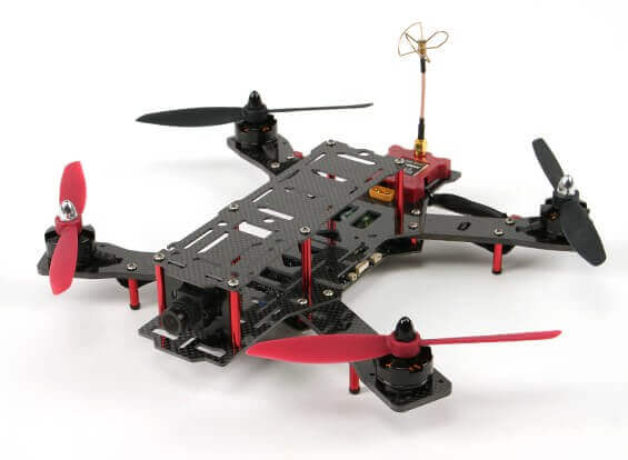 EMAX Nighthawk Pro 280 RTF Quadcopter with Camera Transmitter