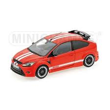 1/18 FORD FOCUS RS 2010 LEMANS EDITION RED 1967 MKIV TRIBUTE