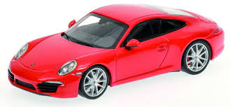 1/18 PORSCHE 911  CARRERA S RED 2012