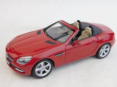 1/18 MERCEDES-BENZ SLK-CLASS 2011 RED METALLIC