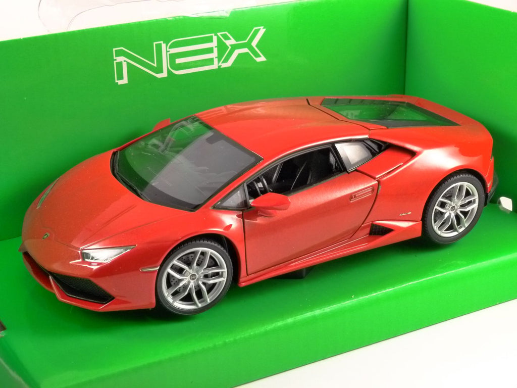 1/18 LAMBORGHINI HURACAN LP610-4 RED 2015