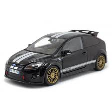 1/18 FORD FOCUS 2010 LEMANS CLASSIC EDITION BLACK 1966 FORD MKII TIRBUTE