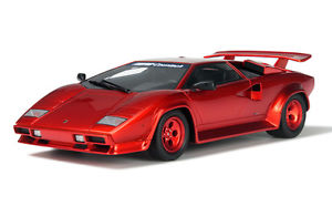 1/18 KOENING SPECIAL COUNTACH TURBO RED