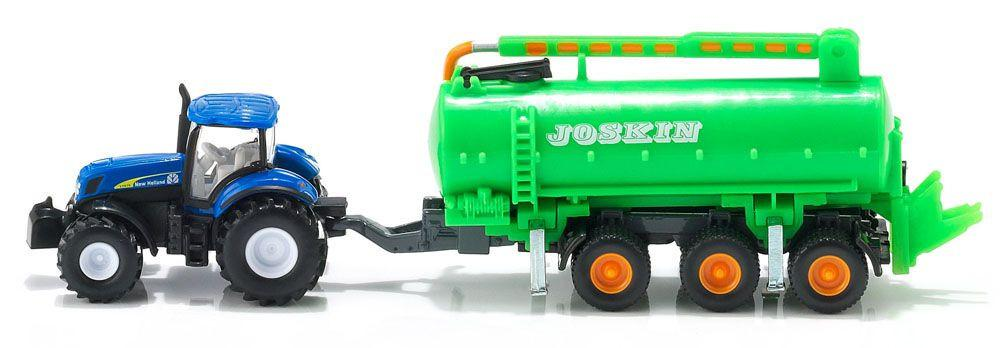 1/87 NEW HOLLAND T7070 WITH VACUUM TANKER