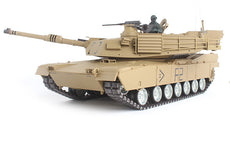 1/16 RC Tank RTR U.S.M1A2 ABRAMS MBT Scale Model