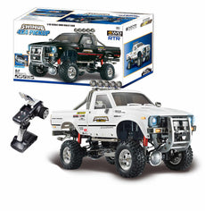 1/10 2.4G 4WD Remote Control RC Car Pickup Truck Rock Crawler Waterproof