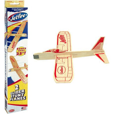 Guillows Balsa Wood Gliders Jetfire Twin Pack (2 Planes ) by Guillow