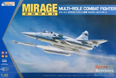 1:48 Kinetic Mirage 2000C Multi-Role Combat Fighter