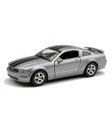 1/32 MUSTANG GT SILVER/BLACK STRIPES
