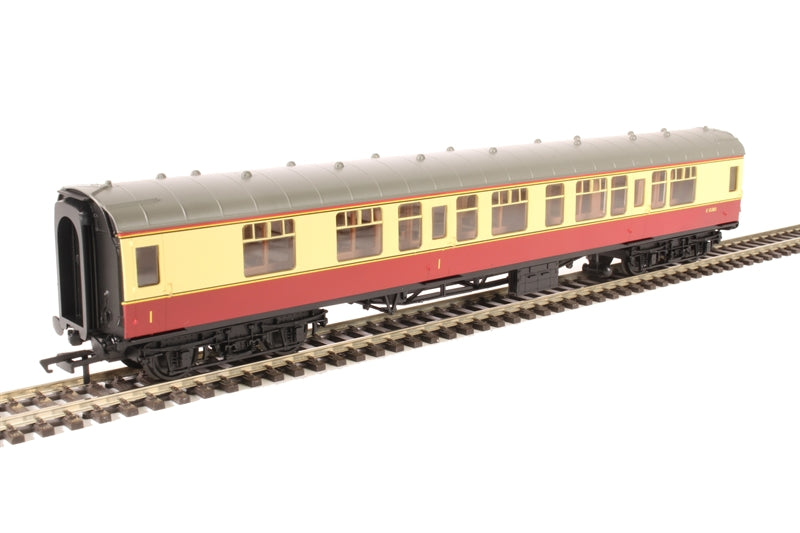 Mk1 CK composite corridor E15303 in BR crimson and cream - Railroad Range