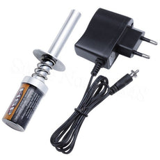 RC 1800mAh Rechargeable Glow Plug Igniter Starter Ignitor With Charger