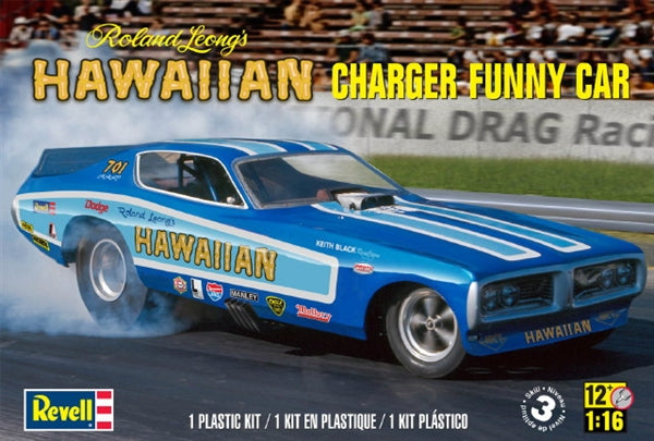 1/16 ROLAND LEONGS HAWAIIAN CHARGER FUNNY CAR