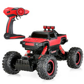 1/14 2CH 4WD Electric RTR Rock Crawler Off-road RC Car Red with LED Light