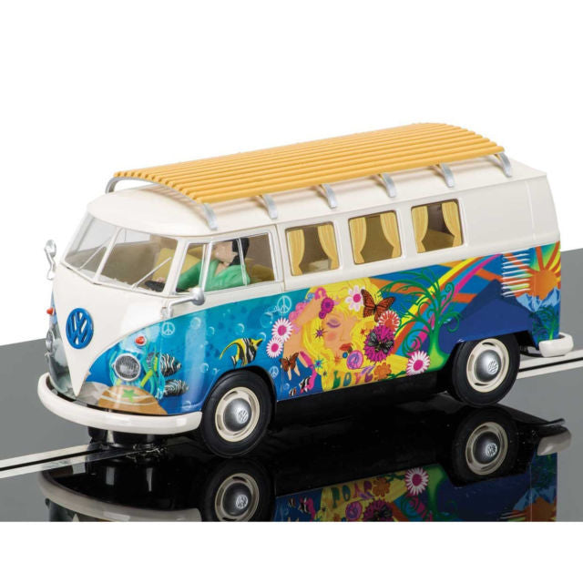 Scalextric VW Flower Power Camper Van