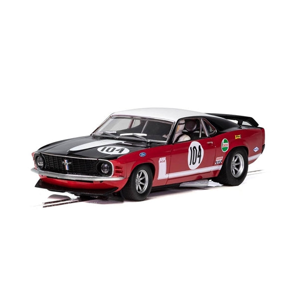 Scalextric Ford Mustang Boss 1970 Frank Gardner 1/32