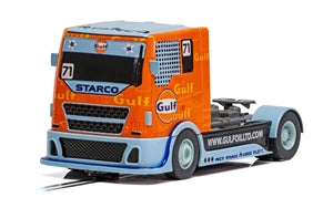 Scalextric Team Gulf Racing Truck 1/32 Slot Car
