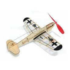Kit guillow balsa rubber (german fighter)