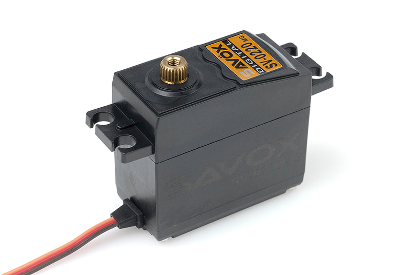 Savox - Servo - SV-0220MG - Digital - High Voltage - DC Motor - Metal Gear