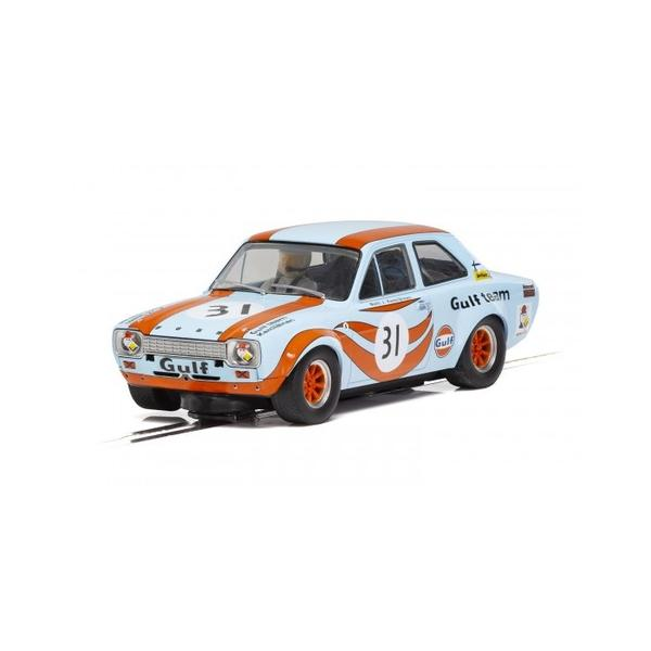 Scalextric Ford Escort Mk1 - Gulf Edition