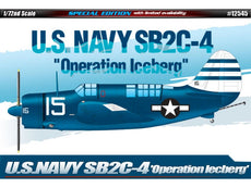 "1/72 U.S. NAVY SB2C-4 ""OPERATION ICEBERG"""
