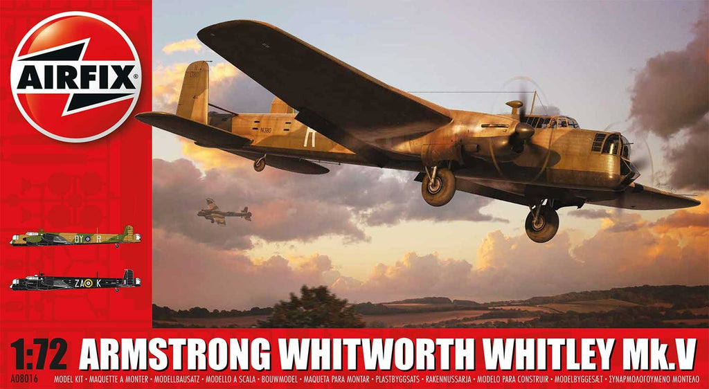 1/72 ARMSTRONG WHITWORTH WHITLEY MK.V