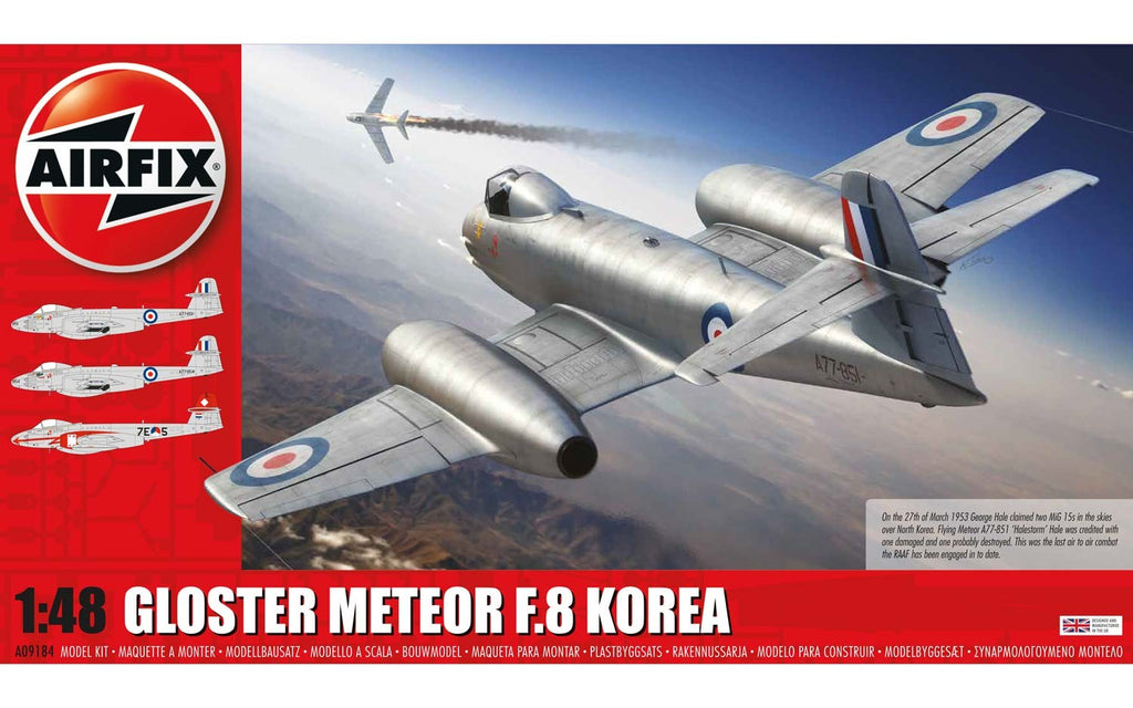 1/48 GLOSTER METEOR F.8