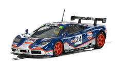 Scalextric MCLAREN F1 GTR - GULF EDITION - LE MANS 1995