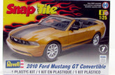 1/25 2010 FORD MUSTANG GT CONVERTIBLE SNAP TITLE
