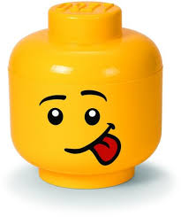 LEGO STORAGE HEAD (LARGE 24CM) - SILLY