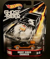 1/64 2018 Hot Wheels Retro Entertainment Marvel Ghost Rider Charger Diecast Car