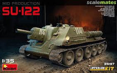 1/35 Soviet Self-Propelled Gun SU-122 (Mid Production)