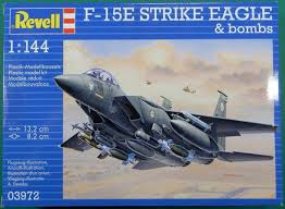 1/144 F-15E STRIKE EAGLE & BOMBS