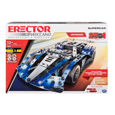 Erector by Meccano SuperCar 25-in-1 STEM Building Kit