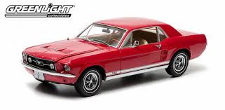1/18 FORD MUSTANG COUPE 1967 RED