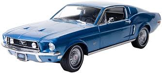 1/18 FORD MUSTANG GT 2+2 FAST BACK 1968