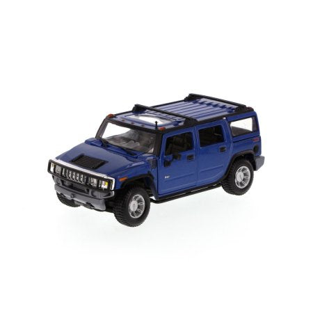 1/24 HUMMER H2 2003 YELLOW/BLUE