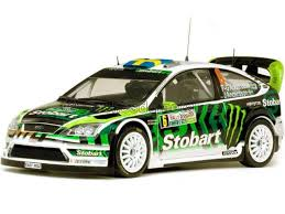 1/18 FORD FOCUS RS WRC08 #6 P-G ANDERSSON