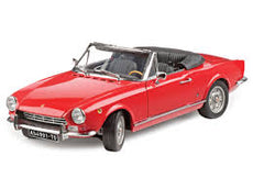 1/18 FIAT 124 SPIDER AS RED