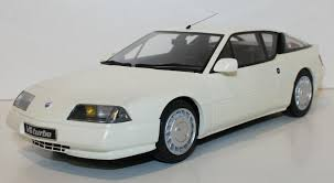 1/18 RENAULT ALPINE GTA V6 TURBO WHITE