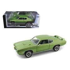 1/18 1969 PONTIAC GTO JUDGE GREEN