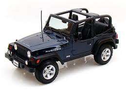 1/24 JEEP WRANGLER RUBICON DARK BLUE