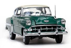 1/18 CHEVROLET BEL AIR COUPE GREEN 1954