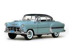 1/18 CHEVROLET BEL AIR 1953 BLUE