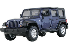 1/32 JEEP WRANGLER UNLIMITED RUBICON DARK BLUE
